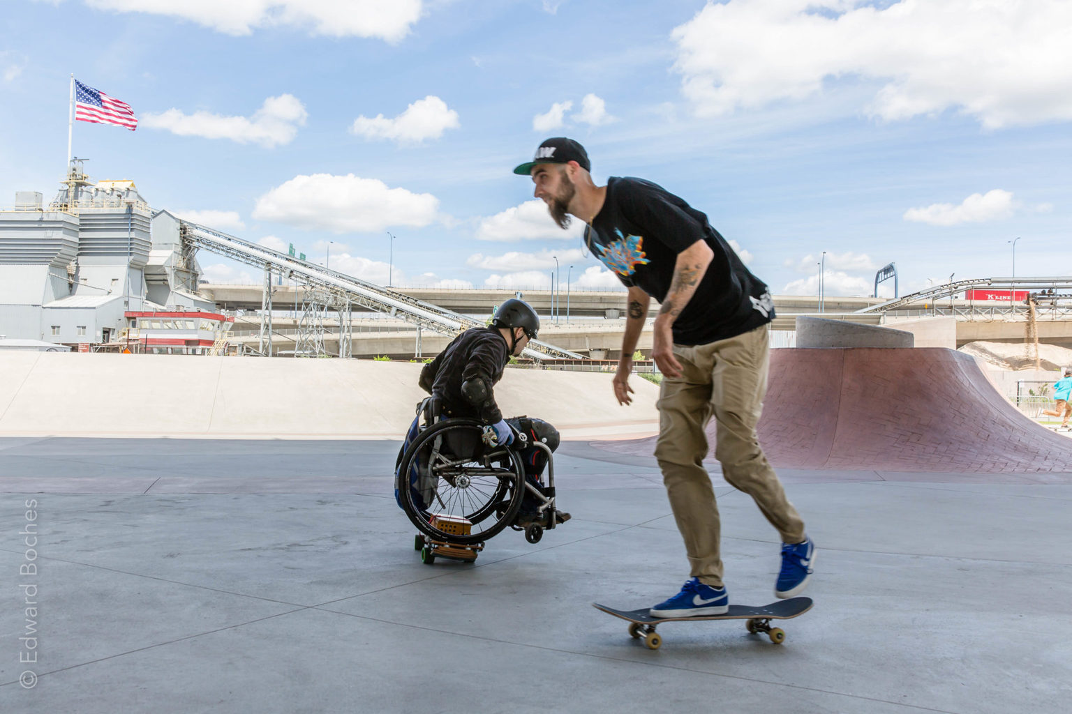 Erik Kondo: Wheelchair Boarding Pioneer