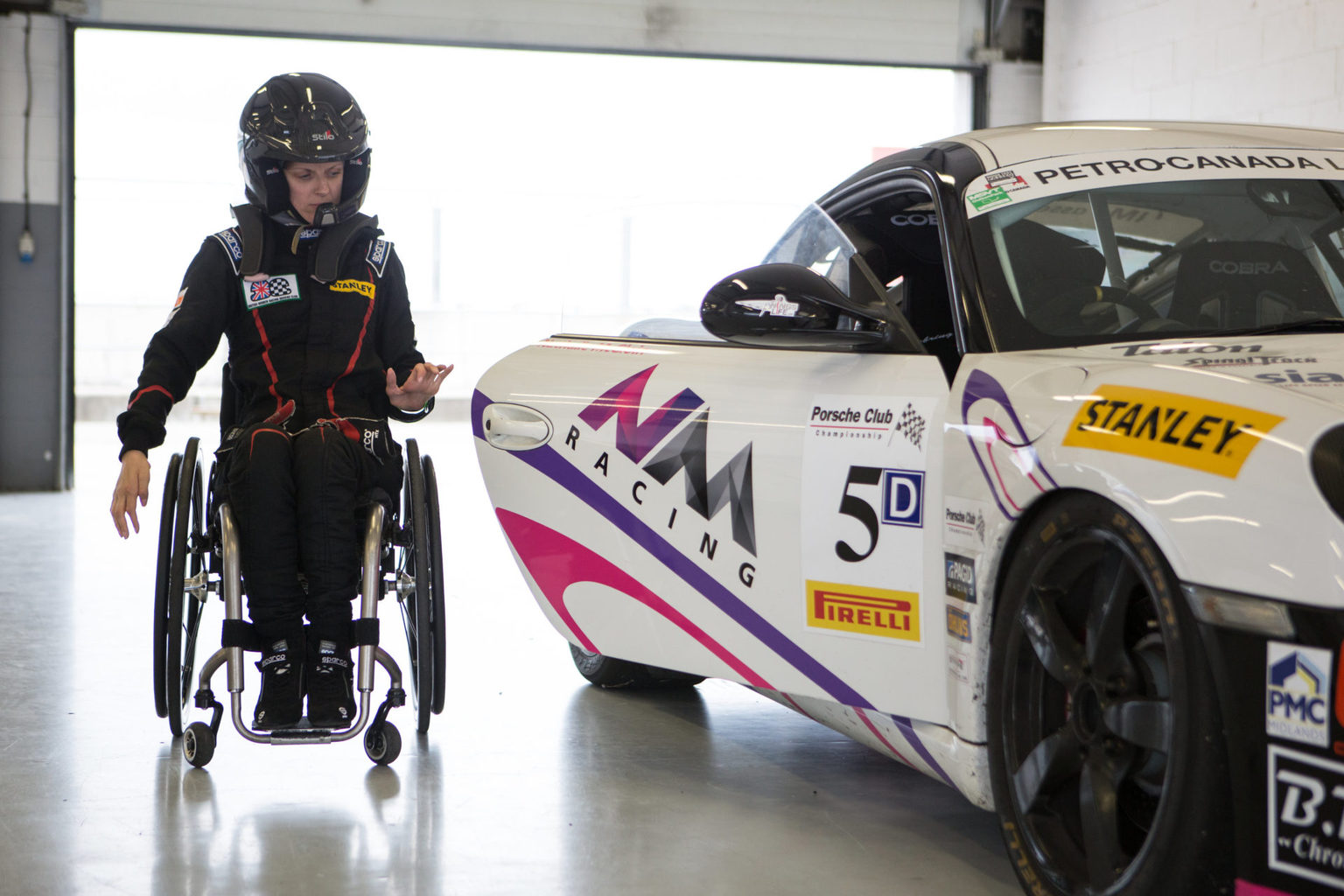 Nathalie McGloin: Tetraplegic Female Racing Driver