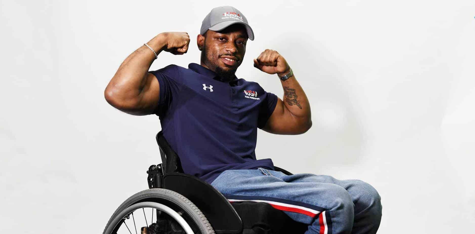 Garrison Redd: Brains, Brawn and a Wheelchair