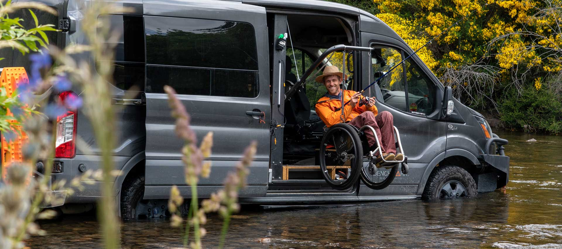 Kirk Williams: Quadriplegic Overland Adventurer