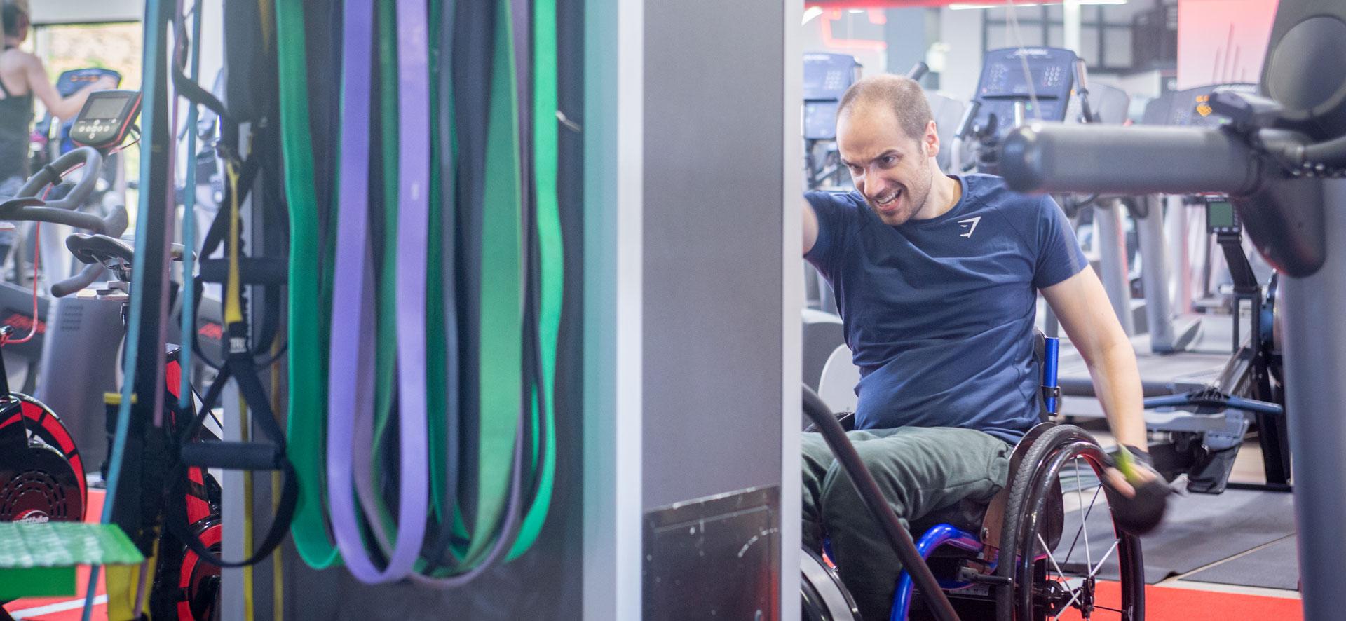 Ben Clark: Quadriplegic Personal Trainer